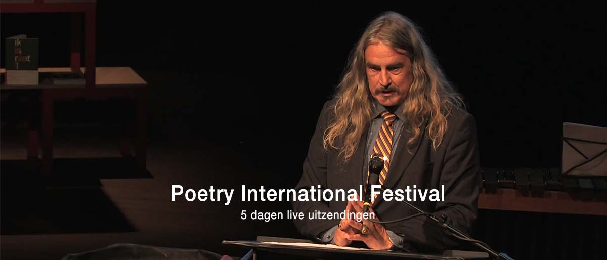 Poetry International Festival live